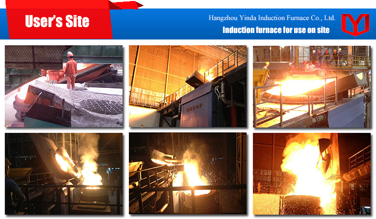 3 Ton Induction Furnace Steel Scrap Melting Furnace From China ...
