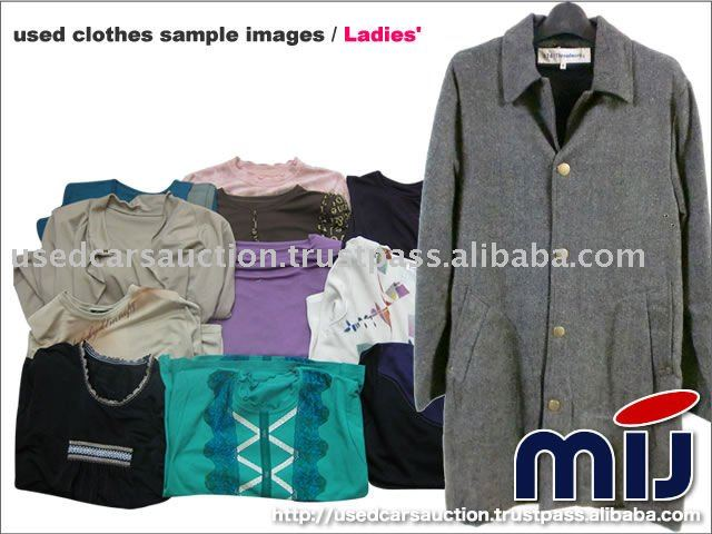 Winter Mixed Used Clothes sale bulk wholesale clothing from Japan