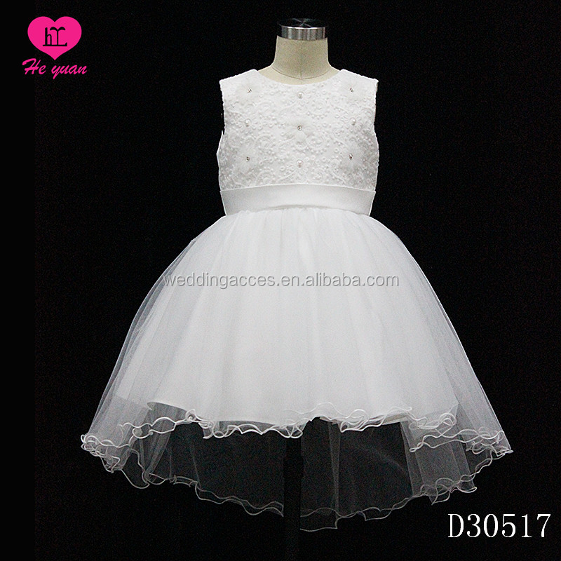D30517 The Most Beautiful Flower Girl Dresses Communion Party Dress