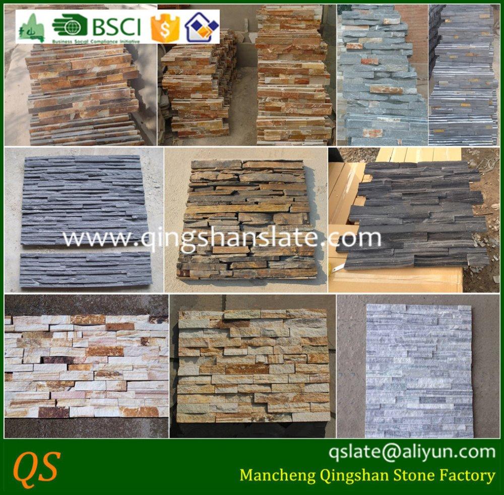 Slate Culture Stone Gate Pillar Tiles - Buy Pillar,Gate Pillar Tiles ... for gate pillar tiles design  76uhy