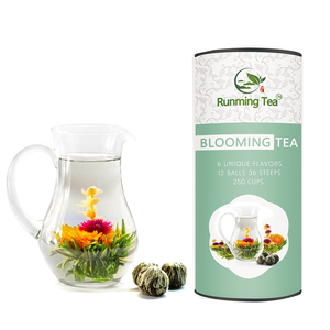 Buy Japanese Glass Teapot Cheap Caffeine Free Brewing Artisan Blooming Flower Green Tea Balls Leaves Bulbs Target in Bulk Online