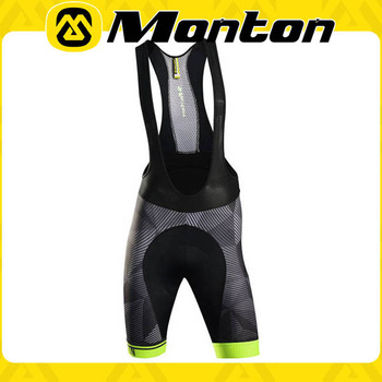 Monton cycling bib pants/2016 upgarde fabric bicycle short