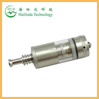 2014 high quality rebuildable coil pyrex glass 4 ml capacity ss taifun gt clone atomizer Taifun GT atomizer