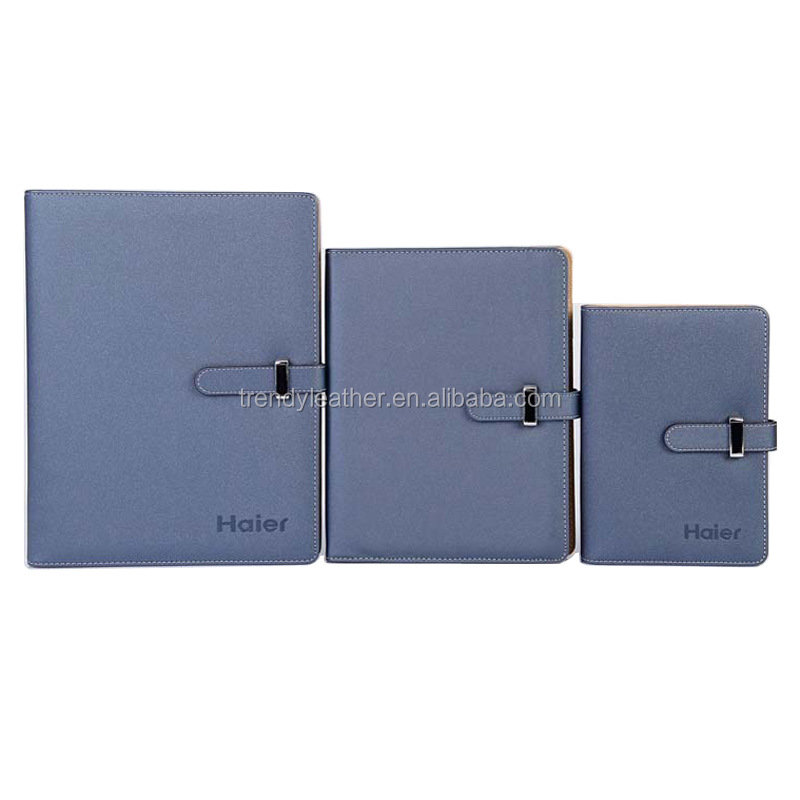 A5 size leather notebook and diary, mini Loose-leaf diary