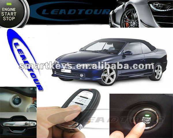 RFID alarm system oem pke alarm engine start stop button for Holden Monaro in Australia AU push smart button remote control