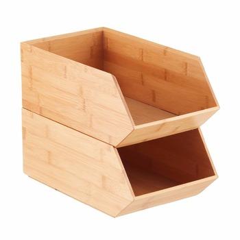 Empilable En Bambou Riz Pièces De Rechange Bac De Rangement - Buy Bac De  Rangement,Boîte De Rangement En Bambou,Bac De Rangement Pour Pièces De ...