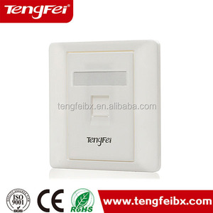 module type RJ45 Network data wall face plate 86*86