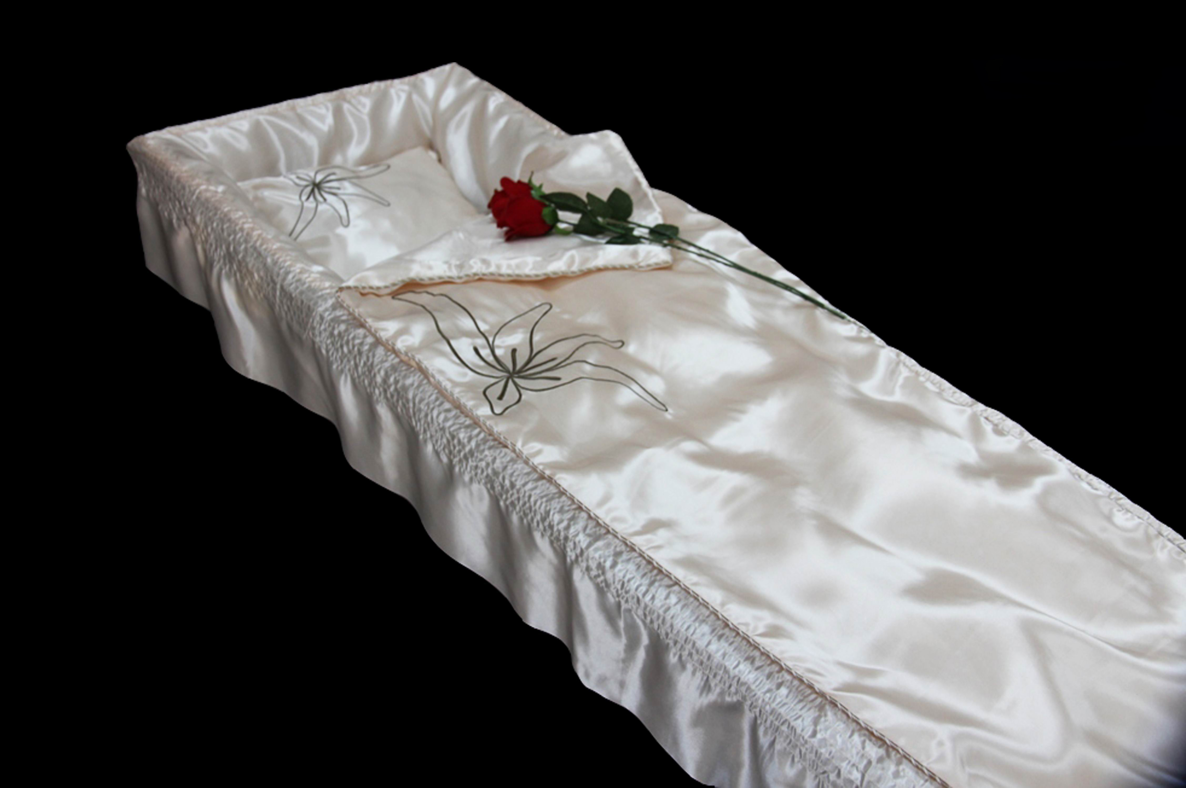 Europe Style Coffin Lining Coffin Interiors Casket cover Casket Fabric