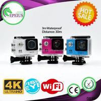 Original underwater selling H9 wifi waterproof 30M digital camera