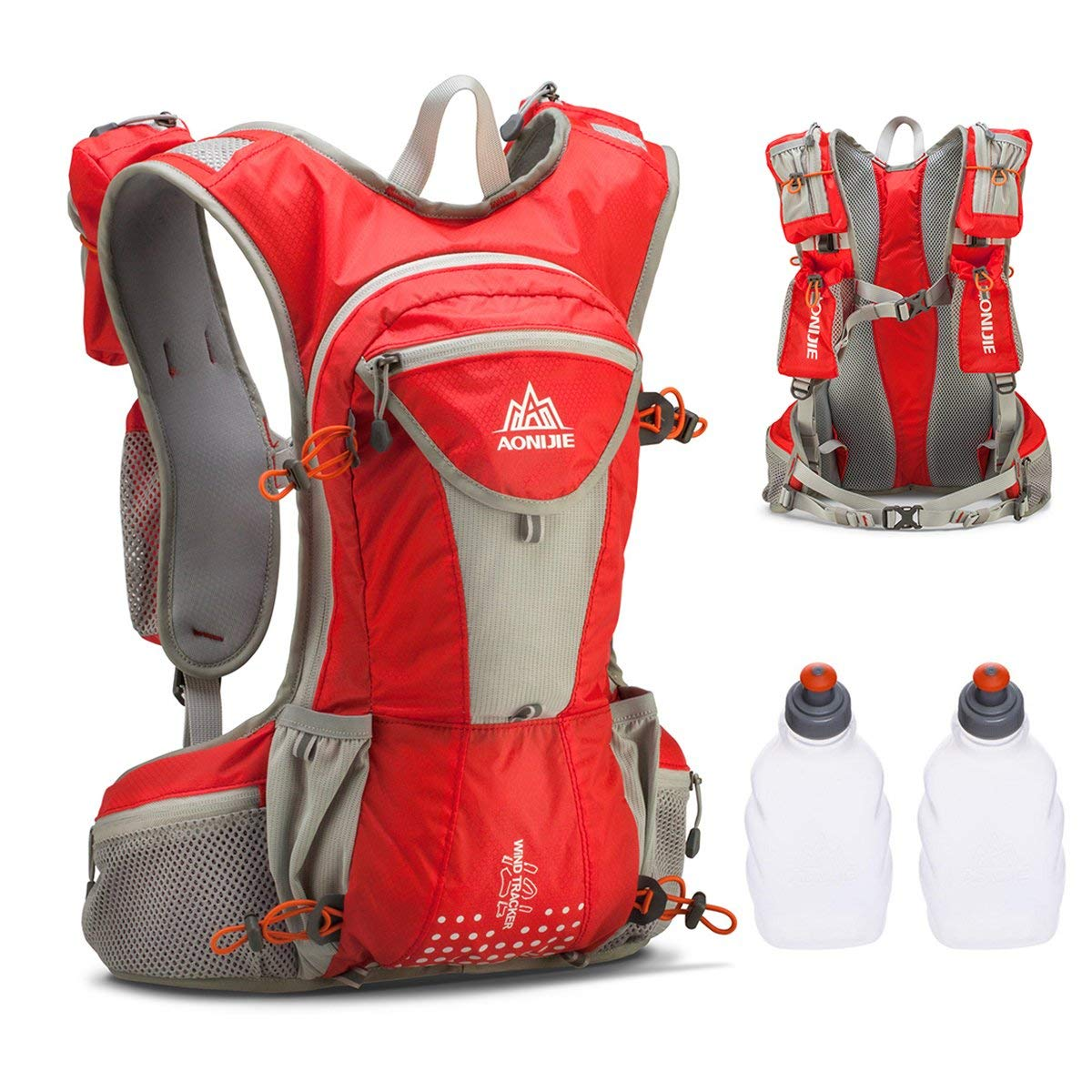 edf2864701 Get Quotations · JEELAD 12L Running Vest Hydration Pack Backpack Waterproof Hydration  Vest for Skiing Marathon Running Race Hiking