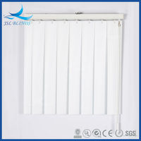 Mini vertical blinds pvc material sale in guangzhou