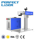 Fiber laser marking machine for steel plates with mobile phone cover laser printing machine price for sale
