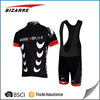 Specialized customized cycling jersey Sublimation Print Cycling bib shorts
