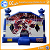 Hockey inflatable bouncer jumping castle inflatable combo for sale