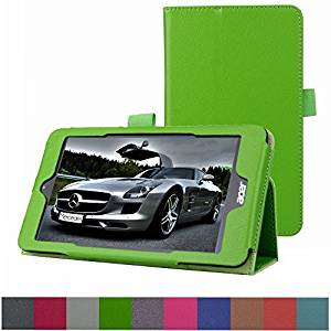 """Acer Iconia One 8 B1-810 / Tab 8 A1-850 Case,Mama Mouth PU Leather Folio 2-folding Stand Cover for 8"""" Acer Iconia One 8 B1-810 / A1-850-13FQ Tablet,Green"""
