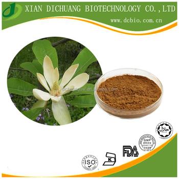 factory supply health 100% Natural Pure Magnolia Bark Extract powder Magnolol