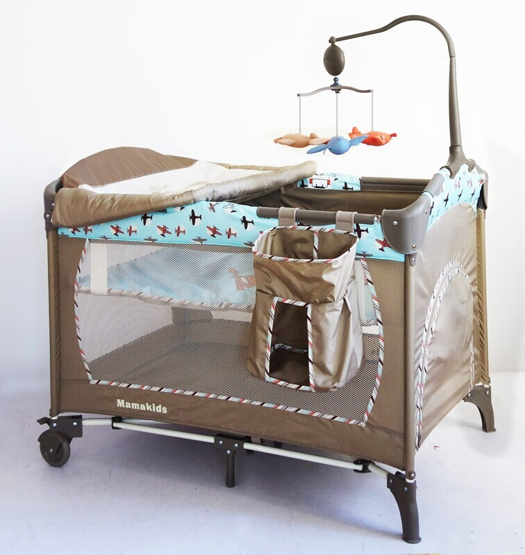 2015 hot selling swing travel baby bed