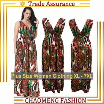 669ad190336 6032-2 Long Floral Summer Beach Sexy Dresses Pregnant Women Chic Hawai Bohemian  Dress Plus