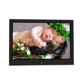 OEM ODM Photo Frames /Wall Photo Frames hot sale gif 13'' multi Function digital video player