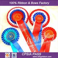 Wholesale Custom Ribbon Rosette For Horse Show
