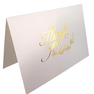 Thank You Cards 50 Elegant Gold Foil Printed Cards With Envelopes For Weddings Business Baby Shower Graduation Bridal Shower
