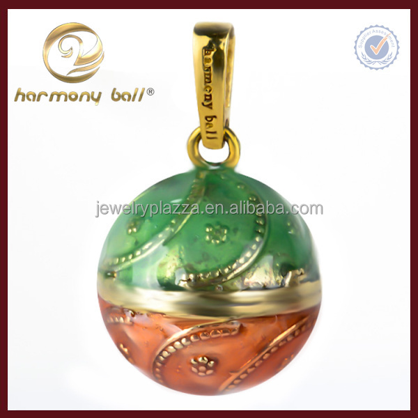 Indonesian enamel harmony ball necklace wholesale harmony balls