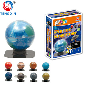 Education toy set Planet Engineer solar system toy