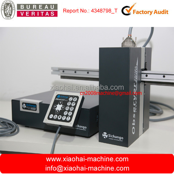 Video Web Inspection System With computer camera for flexo printing machine