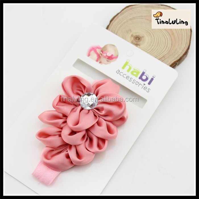 New Arrival Crystal Hairband Seeds Beads Hair Elastic Band TLLC-84