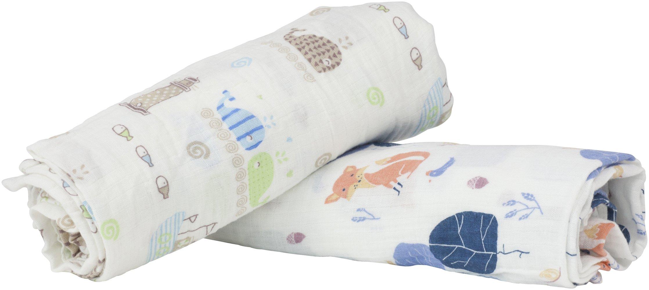Baby Muslin Swaddle Blankets, Cotton Muslin Swaddle Blankets, Swaddle Blankets for Toddlers, Muslin Swaddle Blankets Unisex, Swaddle Blanket Gift Set, Baby Swaddling Blanket, Swaddle Blankets Gift Set