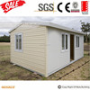 cheap quickly assembled modular housing one bedroom prefab house with chassis especially for retail