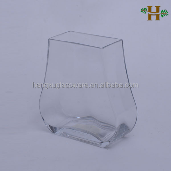 clear small glass vases for flower arrangements, cheap clear glass vases wholesale