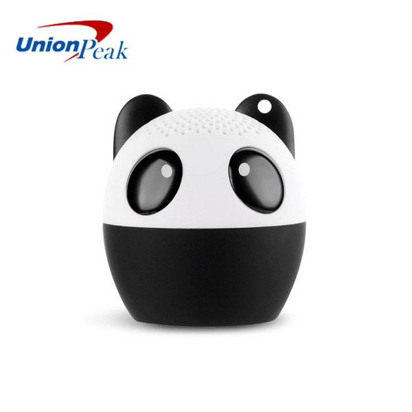 Top quality six kind of Animal Cute Cat / Dog / Pig / Mouse / Bear /Panda Wireless Portable Mini Bluetooth Speaker