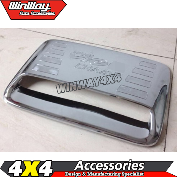 Air Vent Bonnet Cover Hood Hood Scoop สำหรับ Hilux Vigo 2012-2014