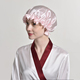 satin bonnet hat
