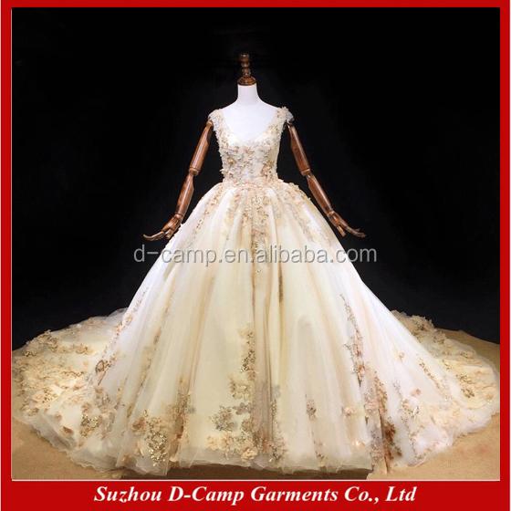 Venta al por mayor vestido de novia anchos-Compre online los mejores ...