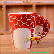 Cute Animal ceramic mug giraffe