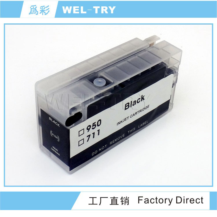 Refillable ink cartridge for hp 950/951,952/953
