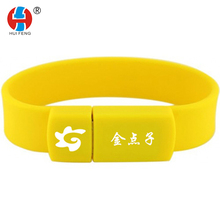 USB Bracelet OEM Custom High Quality Silicone Portable Colorful Fashion Printing customized logo