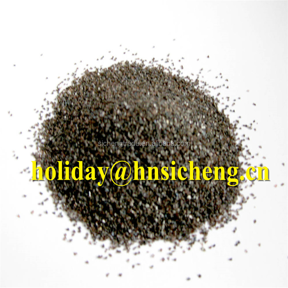 china brown fused alumina /aluminum oxide/BFA grit 20# for sandblasting