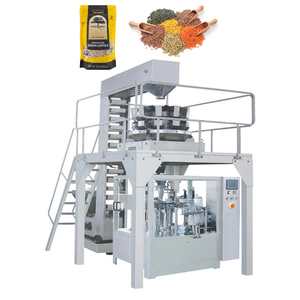 Full Automatic Rotary Doypack Pouch Lentil Packing Machine