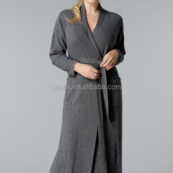 15stc6821 Cashmere Dressing Gown - Buy Cashmere Dressing Gown,Funky ...
