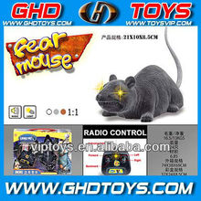 4ch remote control plush mouse with light and music rc mouse toys