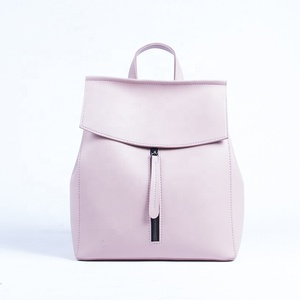 Most popular in European PU leather lady backpack
