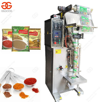 Low Cost Pouch Packing Spices Powder Washing Powder Filling Packing Machinery on Sale