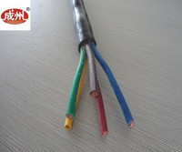 VDE Standard 300/500V silicone insulated multicore electric cable
