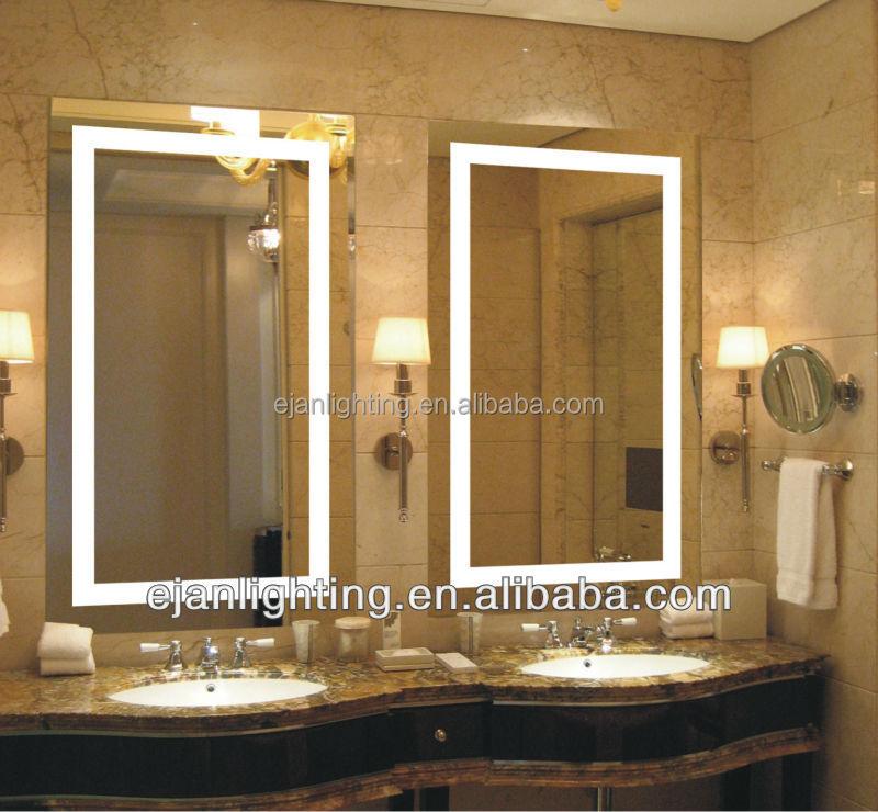 Vente chaude broadway vanit miroir clair avec lumi re for Miroir indonesia