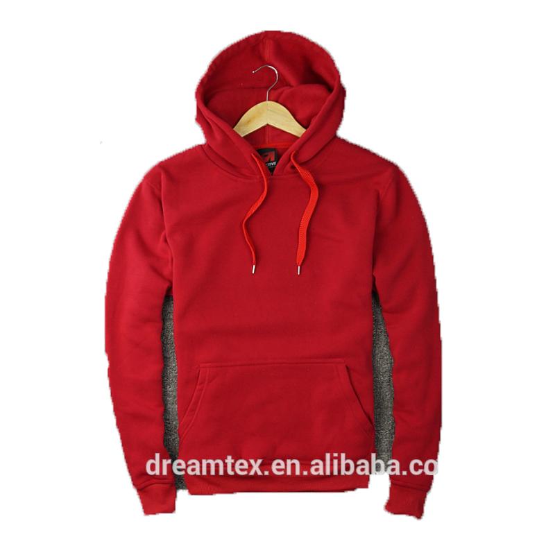Men CVC cotton custom logo plain blank hoodies men's hoodies wholesale фото