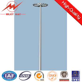 42m High Mast Light Pole with lifting system