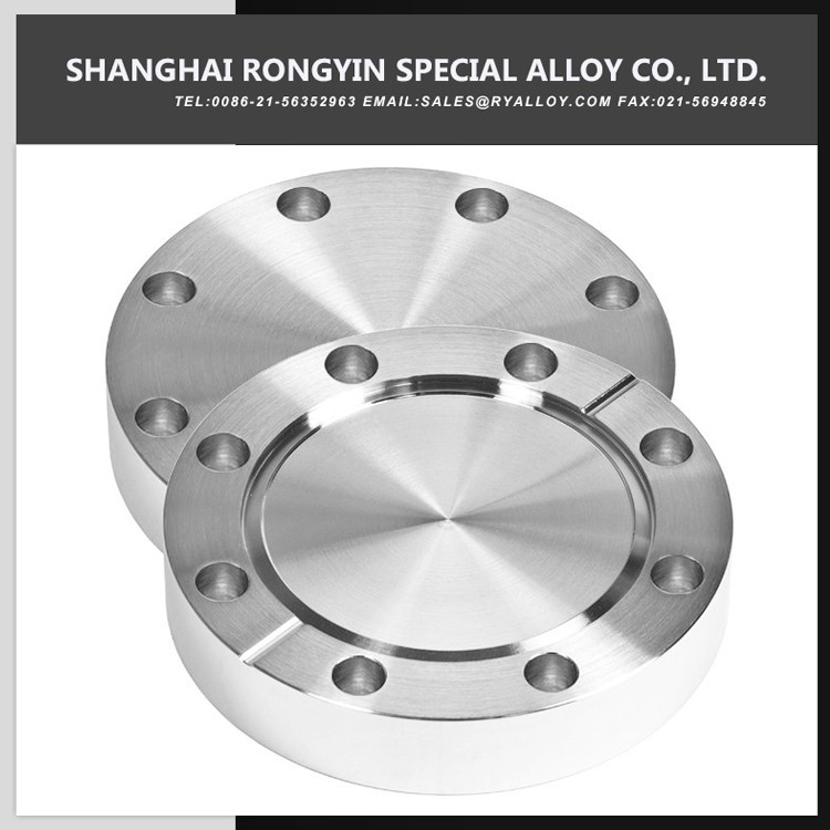 Precision Machining Forged Commercial 254SMO Vacuum Flange
